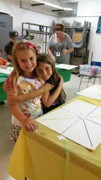 Making Friends AND Art - What is better than that?!
