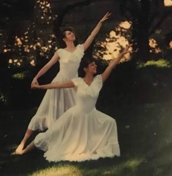 Leslie Crislip Nielsen and Kimberly Crislip Payne 1998