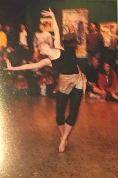 Dancer, Alexia Reiman performs at Canton Museum of Art